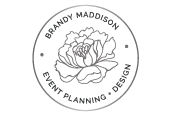 Brandy Maddison Event Planning + Design
